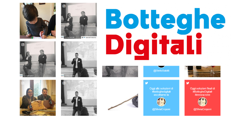 Filippo Berto meets the finalists of Botteghe Digitali