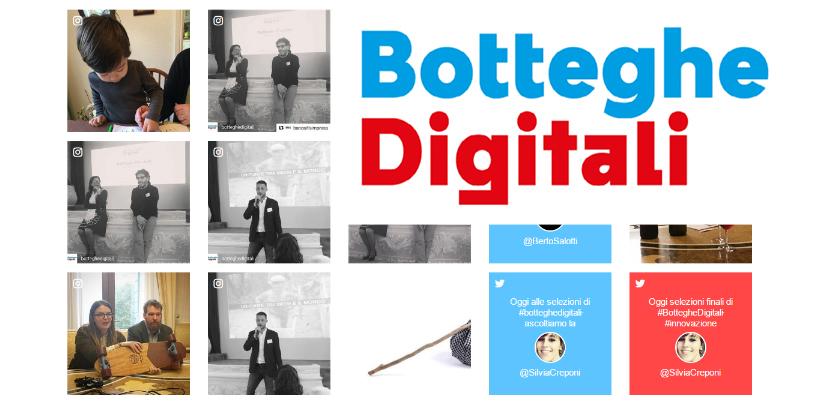 Filippo Berto meets the finalists of Botteghe Digitali