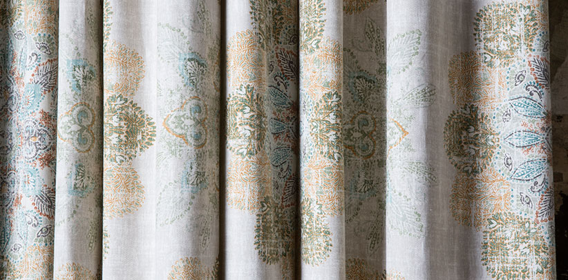 BertO service of custom made curtains