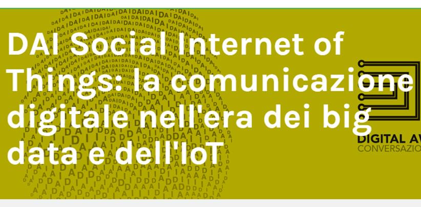 Filippo Berto participated in the Big data and IoT congress in Milan.