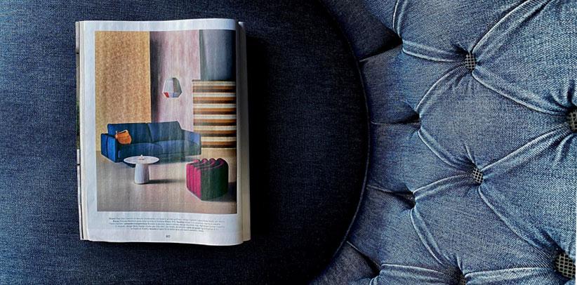 sofa dee dee living magazine corriere della sera