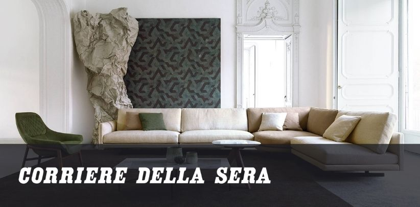 article by berto on how to choose the perfect furnishing consultant in corriere della sera