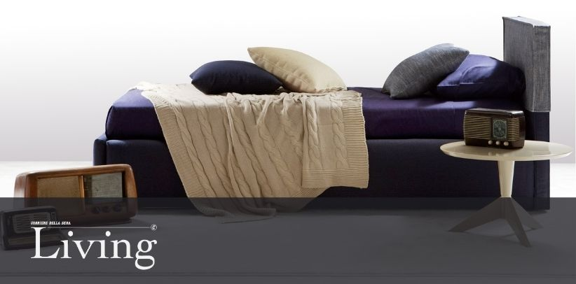 The Summer B bed in the new gallery of Living - Corriere della Sera