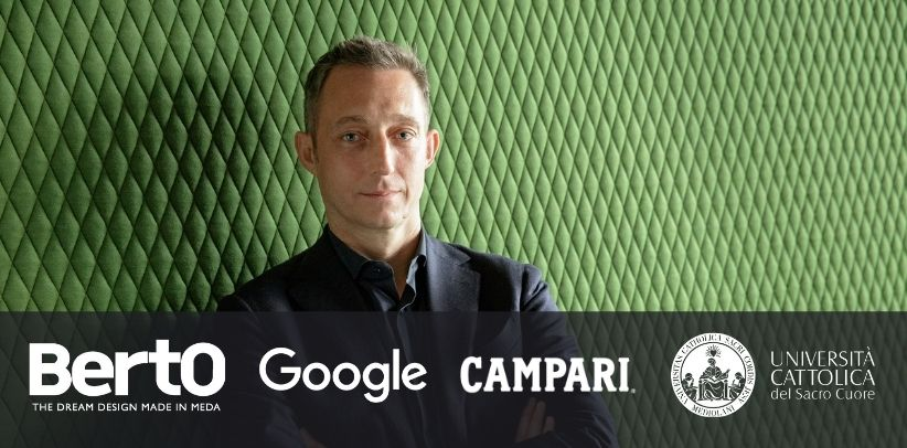 berto, google and campari speak to the students at the università cattolica