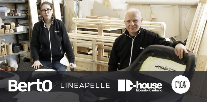 bertO and dyloan are partners for lineapelle 2021