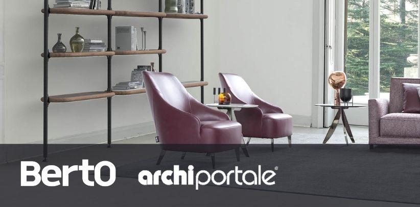 patti armchair and ian bookcase in archiportale