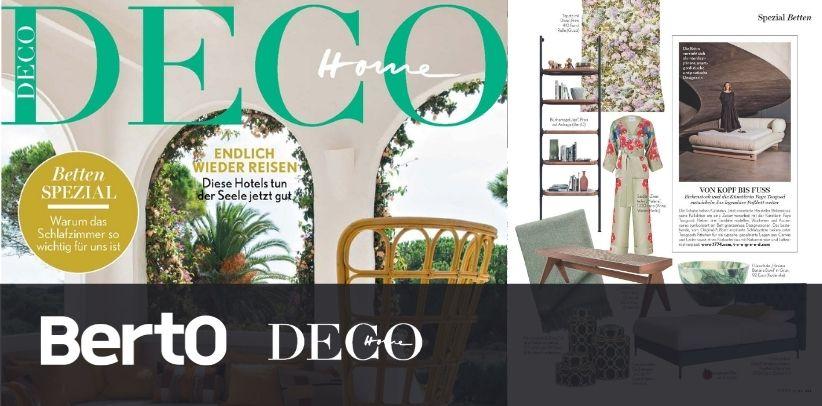 Ian BertO bookcase on HOME deco the prestigious German interior design magazine