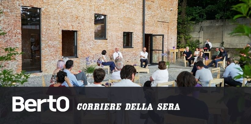 The Corriere della Sera article about LOM - The artisan farmhouse 4.0