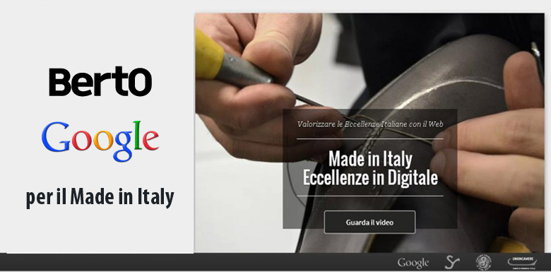 Made in Italy promoted by BertO and Google