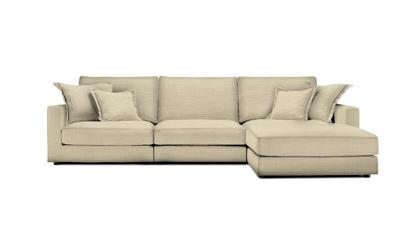 Chaise longue sofa with removable cover berto shop for Chaise longue barcelona outlet