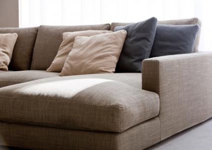Morris sectional sofa berto salotti - Divano profondo ...