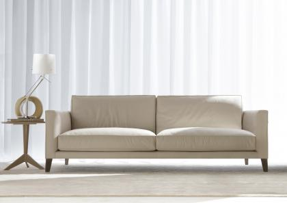 TIME BREAK LEATHER SOFA