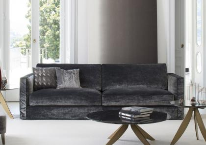 Danton Velvet Sofa - Berto Salotti