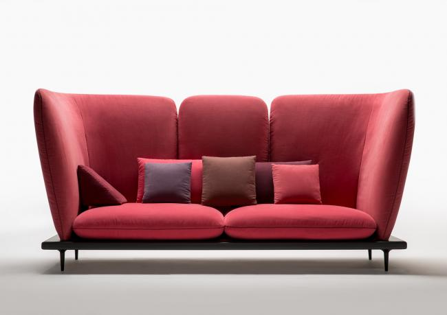 Sofa4manhattan the design sofa for new york berto salotti for Design sofa gebraucht