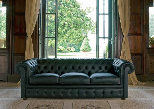 3 Seater Chester Sofa - Berto Salotti
