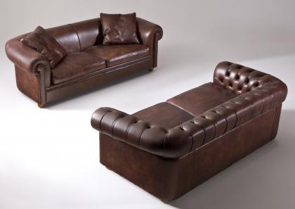 Divano In Pelle Chester.Chester Sofa Bed Berto Salotti