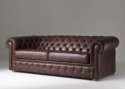 Chester sofa bed berto salotti - Divano letto chesterfield ...