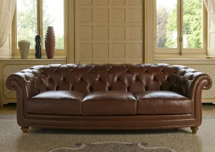 3 SEATER OXFORD SOFA