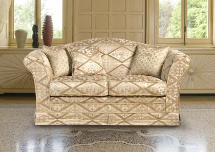 Vienna 2 seater Classic sofa - Berto Salotti
