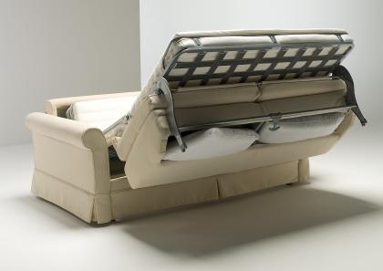 alba b sofa bed with skirt berto salotti. Black Bedroom Furniture Sets. Home Design Ideas