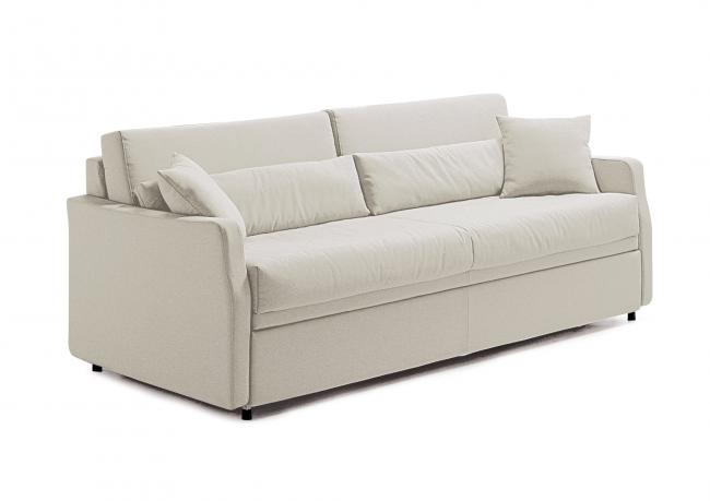 Divano Con Letto Singolo.Teseo Sofa Bed With Pull Out Bed Berto Salotti