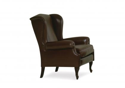 CINA LEATHER ARMCHAIR