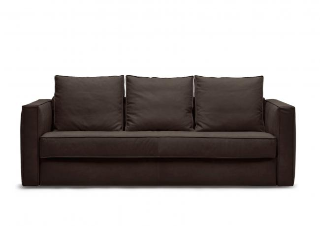 Promo leather sofa bed robinson berto shop for Sofa bed outlet uk