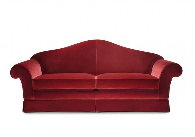 OUTLET | Velvet Classic Sofa - BertO Shop