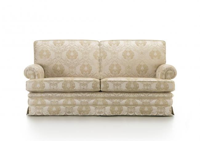 OUTLET  Classic Sofa with Damask Fabric - BertO Shop