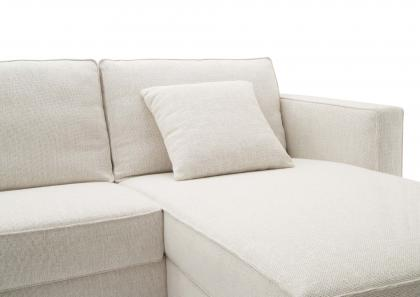 Custom Made Sofa Bed with Chaise Longue - Berto Salotti