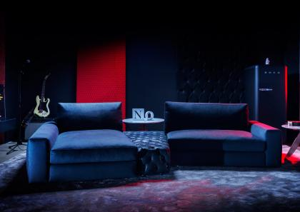 JOEY #BERTOLIVE DENIM SOFA