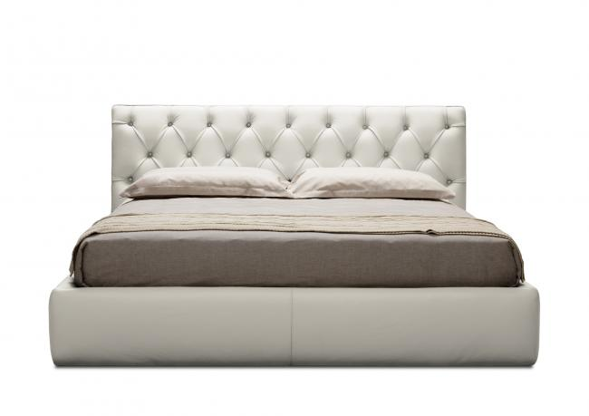 OUTLET | Extra King Size Leather Bed - BertO Shop