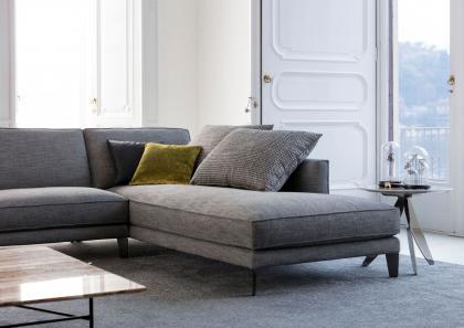 Time Break Sectional Sofa - Berto Salotti