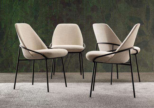 Design chair Jackie - Berto Salotti