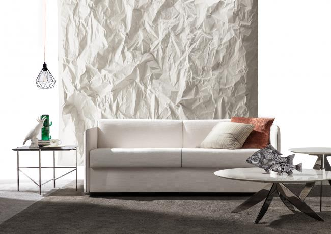 Divano Letto Design Outlet.Outlet Sofa Bed With Comfortable Mattress Berto Shop