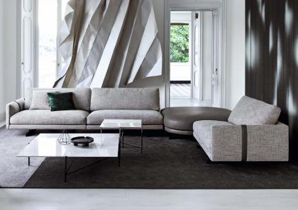 DEE DEE CORNER SOFA WITH POUF